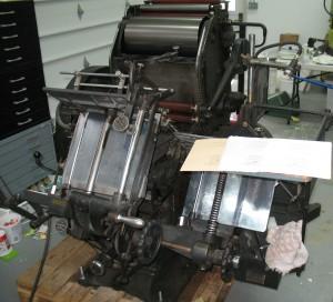 Thompson Platen Press