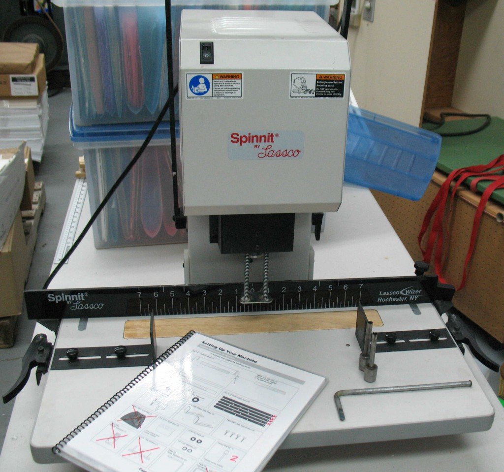Paper Drill Front