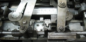 Both sets of tongs and the pin jaws have been installed including the replacement guide rod.