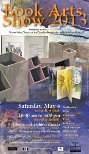 CBBAG Book Arts Fair poster