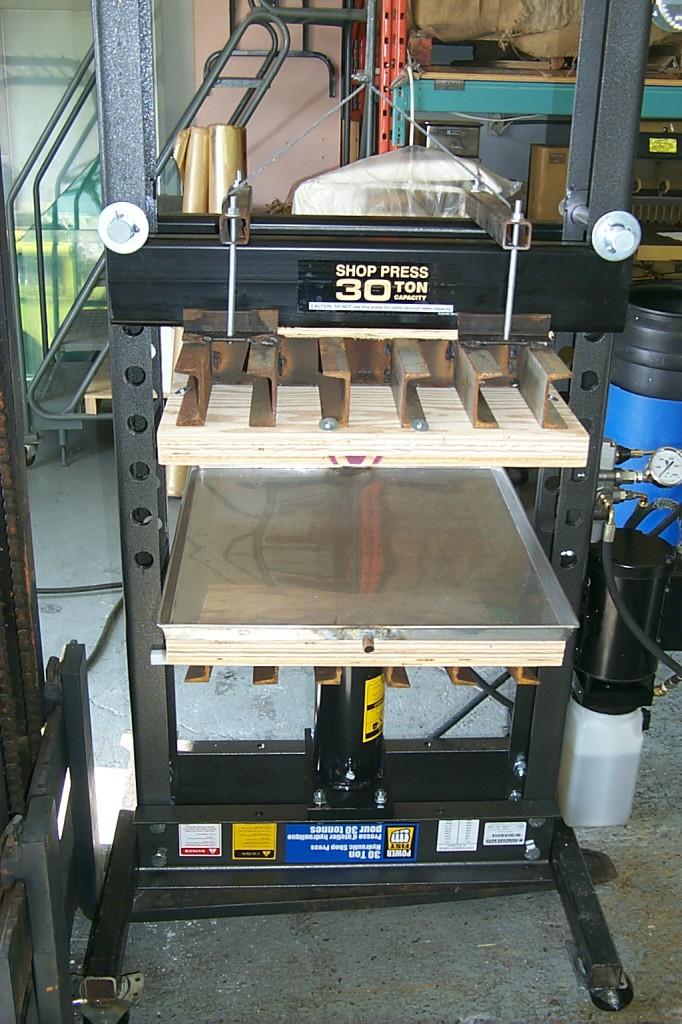 30-ton papermaking press