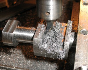 Milling the groove