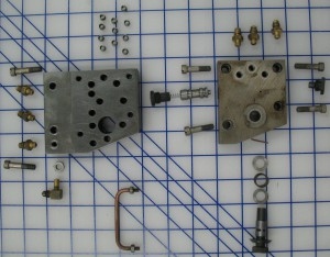 Unit Shift valve parts