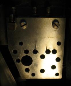 Unit Shift base plate reinstallation