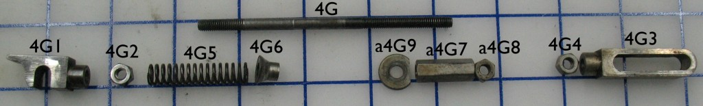 Clamp Operating Rod Parts